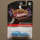 Hot Wheels 2009 Larry's Garage Metrorail Nash Metropolitan (blue) (see condition)