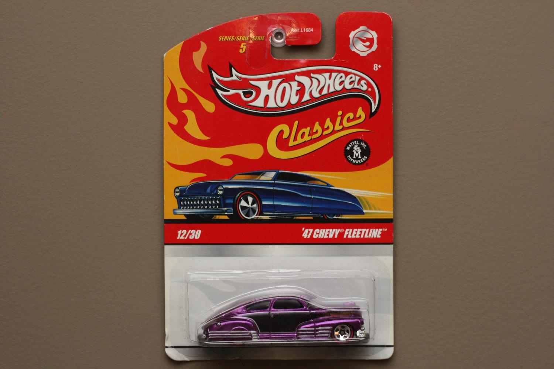 Hot Wheels 2009 Classics Series 5 '47 Chevy Fleetline (purple)