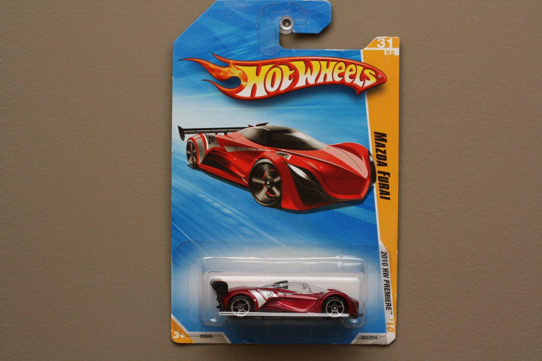 Hot Wheels 2010 HW Premiere Mazda Furai (red) (SEE CONDITION)