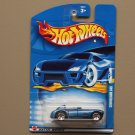 Hot Wheels 2002 Collector Series Cunningham C4R (blue) (SEE CONDITION)