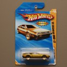 Hot Wheels 2010 New Models '81 Delorean DMC-12 (gold) (SEE CONDITION)