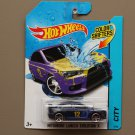 Hot Wheels 2014 Color Shifters Mitsubishi Lancer Evolution X (purple to yellow)