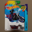 Hot Wheels 2014 Color Shifters Boss Hoss Motorcycle (burgundy to blue)