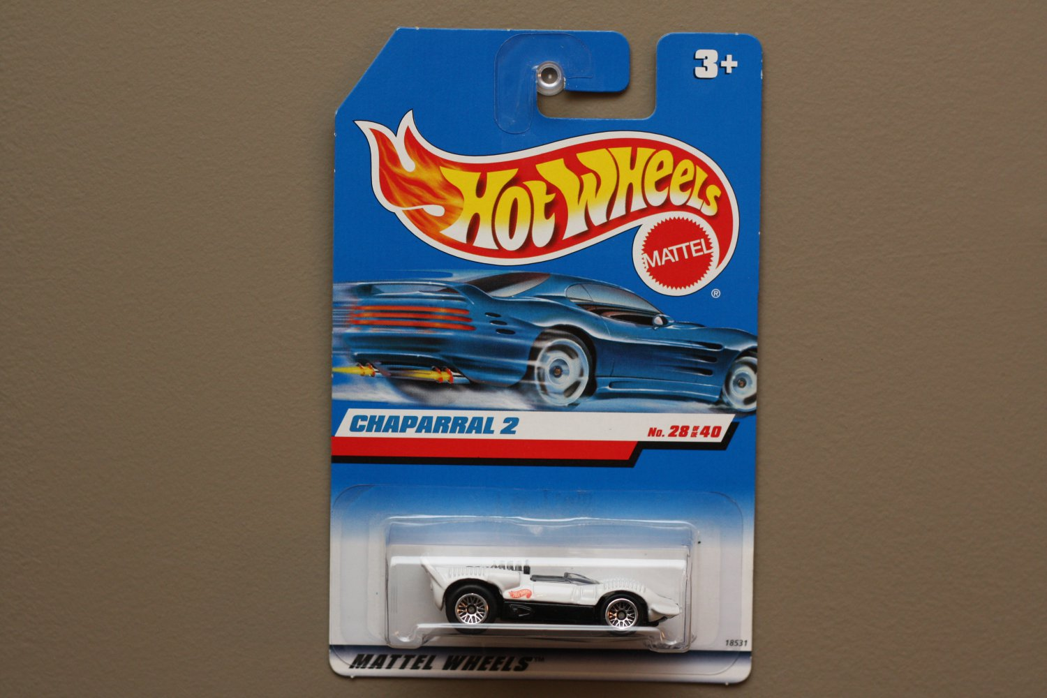 Hot Wheels 1998 First Editions Chaparral 2 (white)