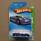 Hot Wheels 2010 Treasure Hunts Ford GTX1 (blue)