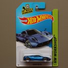 Hot Wheels 2014 HW Workshop Pagani Huayra (blue)