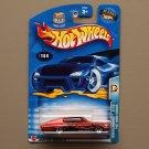 Hot Wheels 2003 Wastelanders '67 Dodge Charger (dark orange)