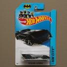 Hot Wheels 2014 HW City The Batman Batmobile (black)