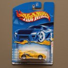 Hot Wheels 2001 First Editions Toyota Celica (yellow)