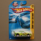 Hot Wheels 2008 First Editions Amazoom (lime green)