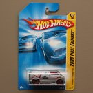 Hot Wheels 2008 First Editions Custom '77 Dodge Van (silver)