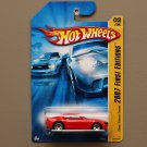 [WHEEL VARIATION] Hot Wheels 2007 First Editions Chevy Camaro Concept (red)