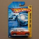 Hot Wheels 2007 First Editions Chevy Silverado (orange)