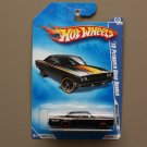 Hot Wheels 2009 Muscle Mania '70 Plymouth Road Runner (black)