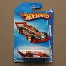 Hot Wheels 2010 Faster Than Ever Carbonator (orange/burgundy) (bottle opener)