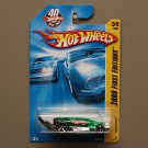 Hot Wheels 2008 First Editions Carbonator (green/silver) (bottle opener)