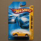 Hot Wheels 2007 New Models Ferrari 599 GTB (yellow)
