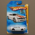 Hot Wheels 2008 New Models Camaro Convertible Concept (white)