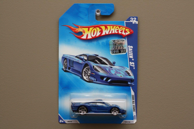 Hot wheels 2008 hw all stars saleen s7 blue for 9 salon hot wheels mexico