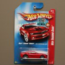 Hot Wheels 2008 Web Trading Cars Chevy Camaro Concept (red)
