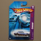Hot Wheels 2007 Camaro Series '67 Camaro (blue)