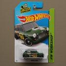 Hot Wheels 2014 HW Workshop Morris Mini (green)