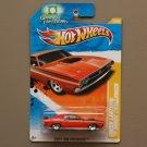 Hot Wheels 2011 HW Premiere Green Lantern '71 Dodge Challenger (orange)