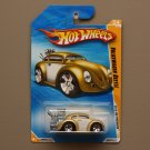 [WHEEL ERROR] Hot Wheels 2010 HW Premiere Volkswagen Beetle (gold)