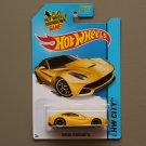 [WHEEL ERROR] Hot Wheels 2014 HW City Ferrari F12 Berlinetta (yellow)