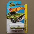 Hot Wheels 2015 HW Off-Road Datsun 620 (green)