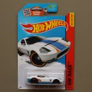 Hot Wheels 2015 HW Race Ford Shelby GR-1 Concept (white - Kmart Excl.)