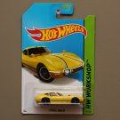 Hot Wheels 2014 HW Workshop Toyota 2000 GT (yellow)