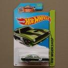 Hot Wheels 2015 HW Workshop '70 Plymouth AAR Cuda (green)