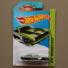 [PAINT ERROR] Hot Wheels 2015 HW Workshop '70 Plymouth AAR Cuda (green)
