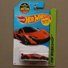 Hot Wheels 2015 HW Workshop McLaren P1 (orange)