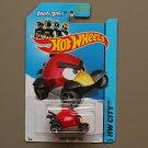 Hot Wheels 2014 HW City Angry Birds (Red Bird)