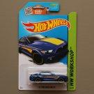 Hot Wheels 2015 HW Workshop '15 Ford Mustang GT (blue)