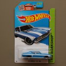 Hot Wheels 2015 HW Workshop '69 Chevelle SS 396 (blue - Kmart Excl.)