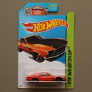 Hot Wheels 2015 HW Workshop '69 Ford Mustang Boss 302 (orange) (SEE CONDITION)