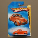 Hot Wheels 2009 HW Premiere Custom '41 Willys Coupe (orange)
