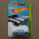 Hot Wheels 2015 HW Workshop '69 Chevelle SS 396 (blue - Kmart Excl.) (SEE CONDITION)