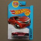 Hot Wheels 2014 HW City Ryura LX (red)