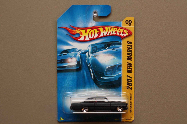 Hot Wheels 2007 New Models '66 Chevy Nova (black)