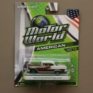 Greenlight Motor World Series 13 American Ed. '55 Chevrolet Bel Air (Green Machine) (SEE CONDITION)