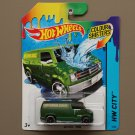 Hot Wheels 2014 Color Shifters Custom '77 Dodge Van (green to lime)