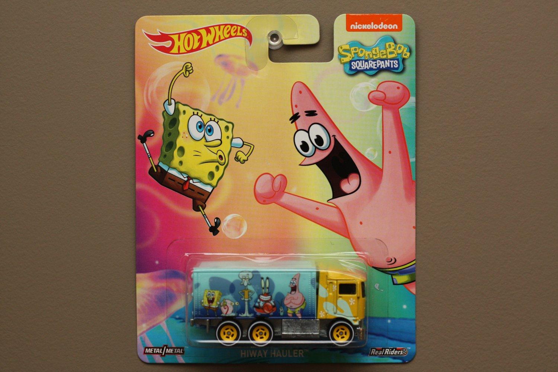 Hot Wheels 2015 Pop Culture Hiway Hauler (Sponge Bob Squarepants)
