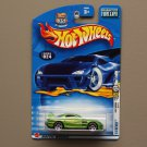 Hot Wheels 2003 First Editions 24/Seven (green)
