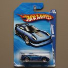 Hot Wheels 2010 Hot Auction Callaway C7 (blue) (SEE CONDITION)