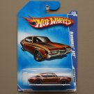Hot Wheels 2009 Muscle Mania Oldsmobile 442 (brown)