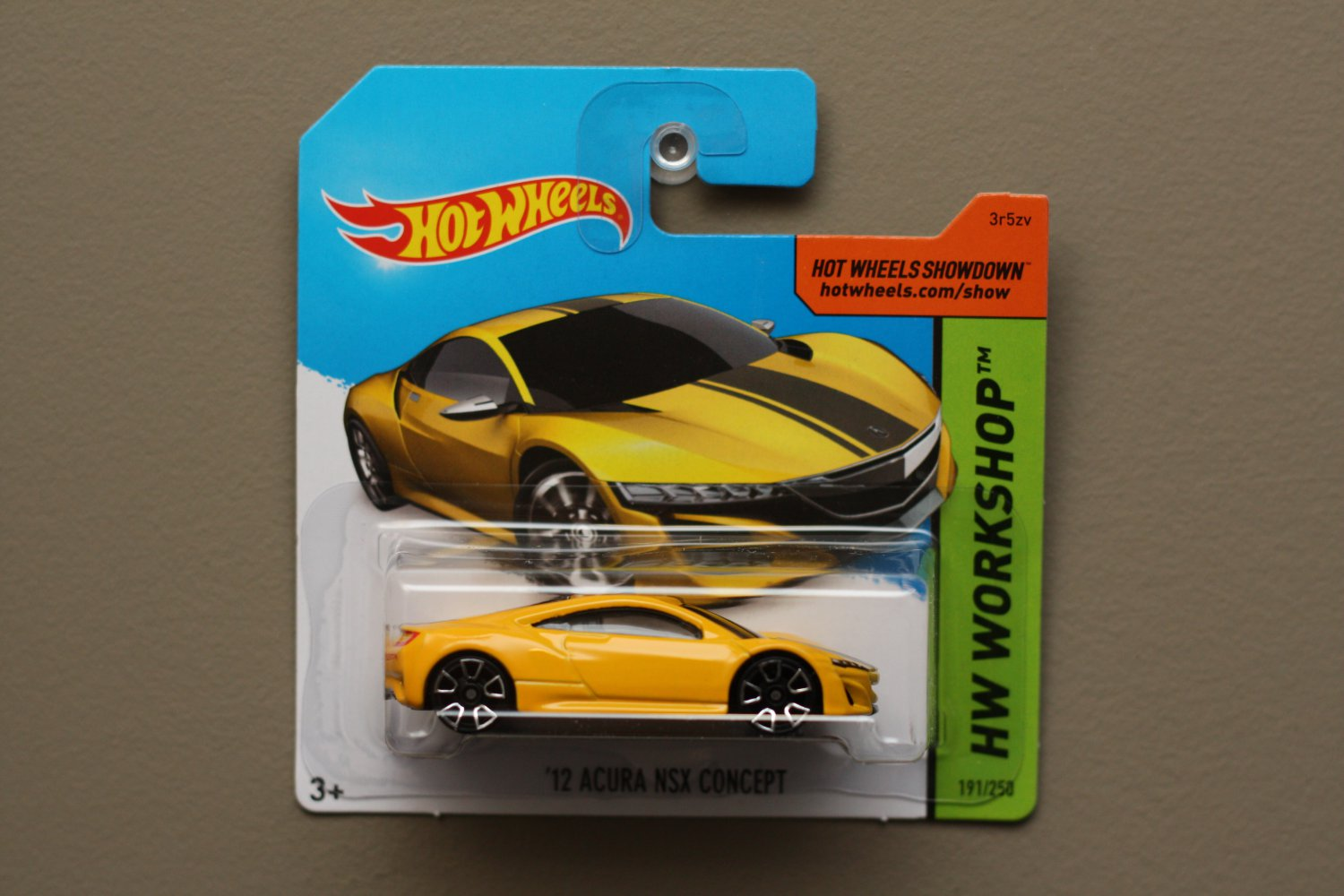 Hot Wheels 2015 Hw Workshop 12 Acura Nsx Concept Yellow